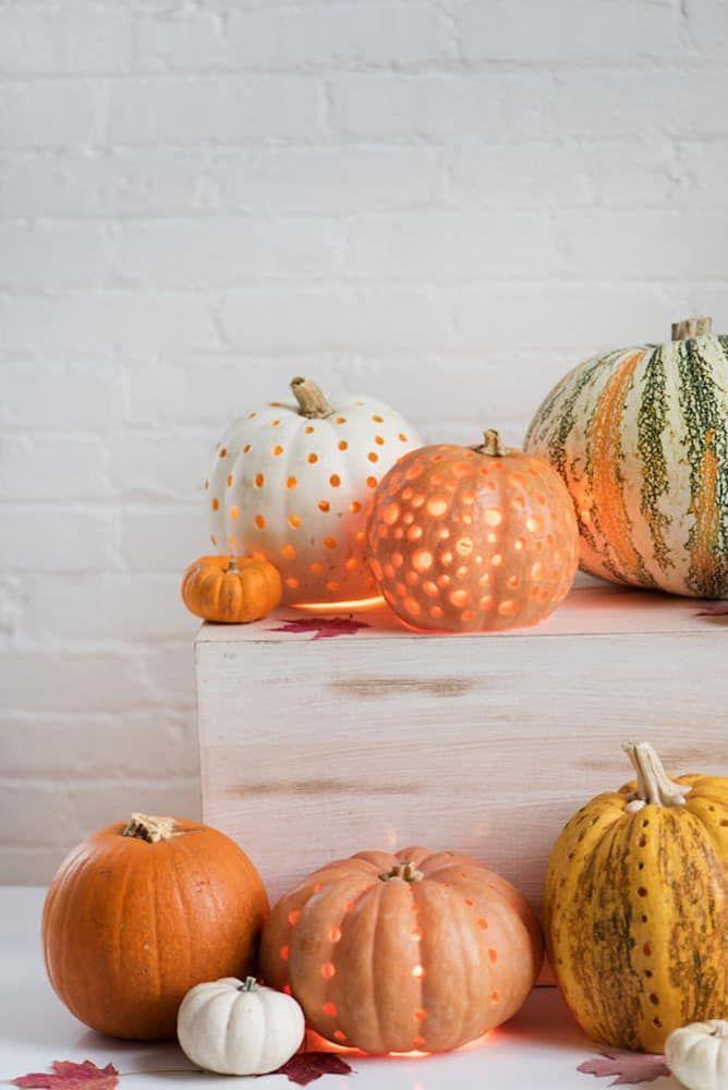 The Chicest Diy Halloween Decor Pumpkin Decorating Halloween