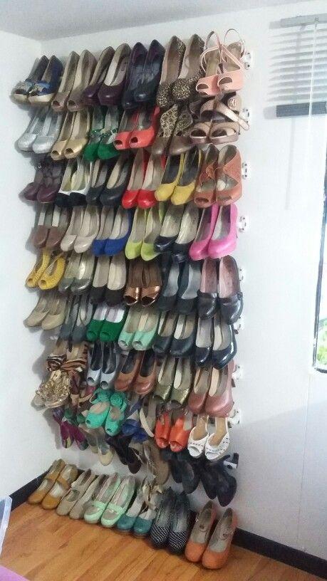 54 best images about home on pinterest kid bookshelves - Organizador de zapatos ...