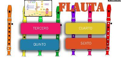Cuaderno de Flauta organizado por cursos | Partituras para clase