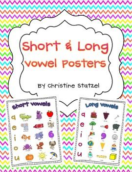 Freebie!! These are convenient and useful learning tools for your students to refer to: Folder Freebies, Long Shorts, Convenience, Student, Learning Tools, Free Shorts, Shorts And Long Vowels Posters, Kids, Couple Kiddo