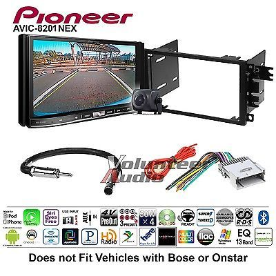 Pioneer Double Din GPS DVD CD Player Car Radio Stereo Dash Install Mount Kit
