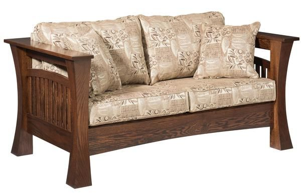 Gateway Loveseat from DutchCrafters Amish Furniture