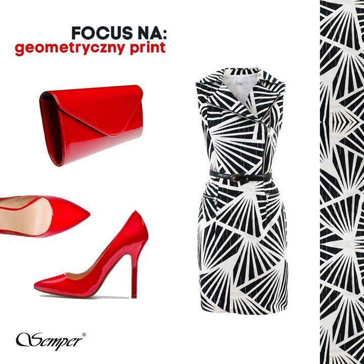 Kochamy geometryczne printy, a Wy?  http://bit.ly/SemperWachlarze http://bit.ly/SemperKopertowka
