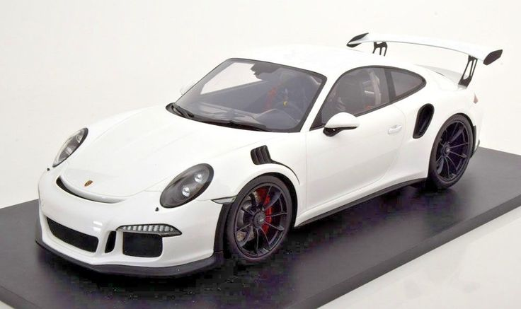 1 12 Spark 2016 Porsche 991 Gt3 Rs White Diecast Model Car Spark