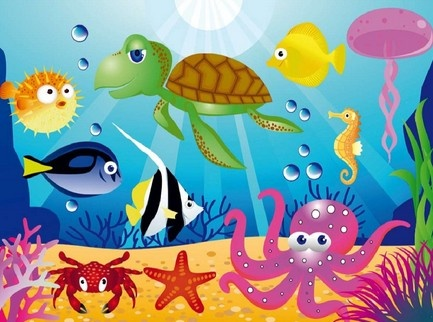 Busy week on the underwater theme for a lovely family www.cherryblossominteriors.co.uk/interior-design