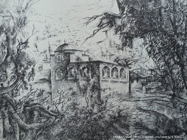 НЕТОВКИН РАМИЗ - Мавзолей Эски-дюрбе в Бахчисарае