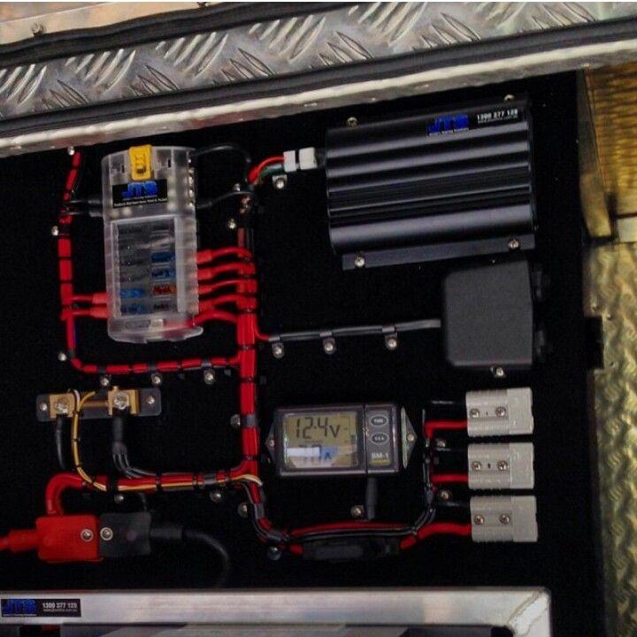 A A D A Da B A Electrical Wiring Garage Workshop on Trailer 12 Volt Junction Box