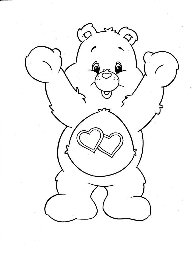 Coloring Pages Care Bears : Best carebears images on pinterest adult coloring