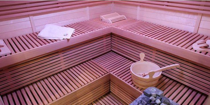 Sauna is heart of your home. Lovely sauna benches makes your sauna experience more pleasure.  #Sauna #SaunaBenches #Lauteet #Saunanlauteet