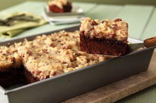 Easy BAKER'S GERMAN'S Sweet Chocolate Cake Recipe - Kraft Recipes- I make this every year... Fav!