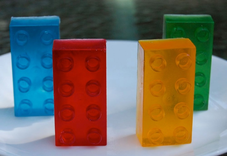 Lego Glycerin Soap