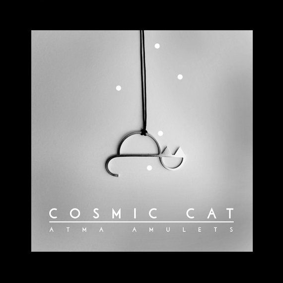 ATMA COSMIC CAT by AtmaIsSpace on Etsy