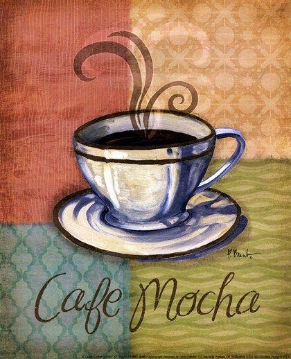 Quattro Coffee IV-mini by Paul Brent art print