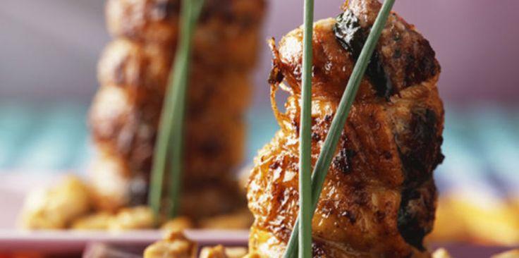 Ailes et cuisses de poulet farcies