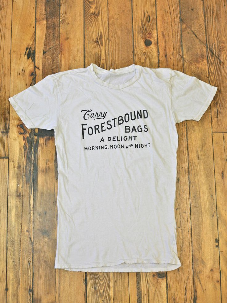 Forestbound Printed Cotton Tee