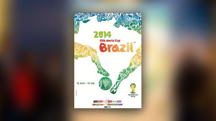 FIFA revela o poster oficial da Copa do Mundo 2014