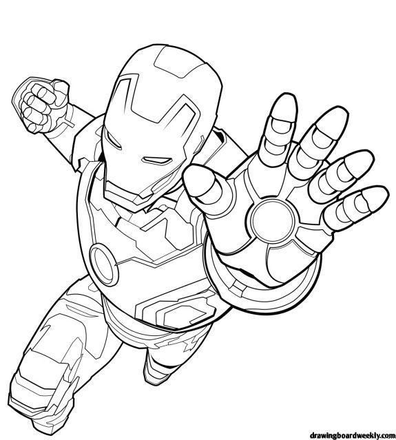 Pin On Marvel Coloring Pages