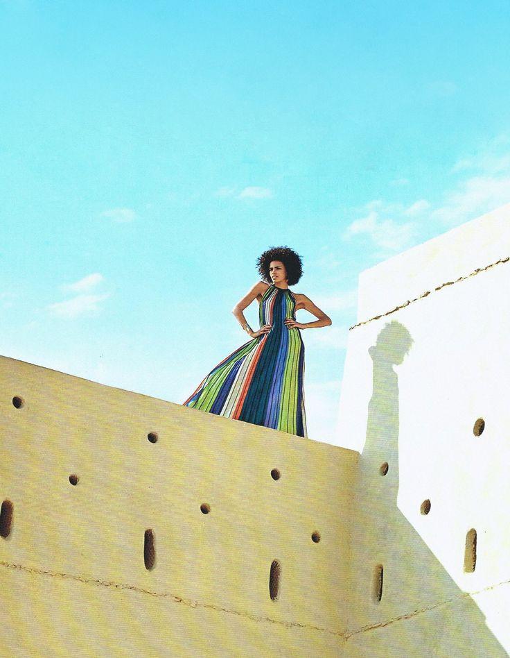 #MMissoni | #ArchitecturalDigest, Middle East | Summer 2016
