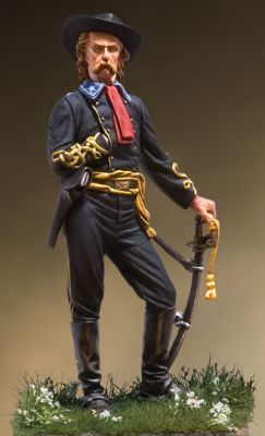 BG George A. Custer, Gettysburg, July 3, 1863.