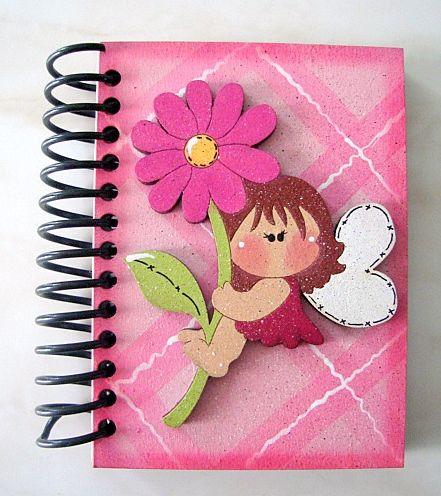 Cuaderno con foami - Imagui…