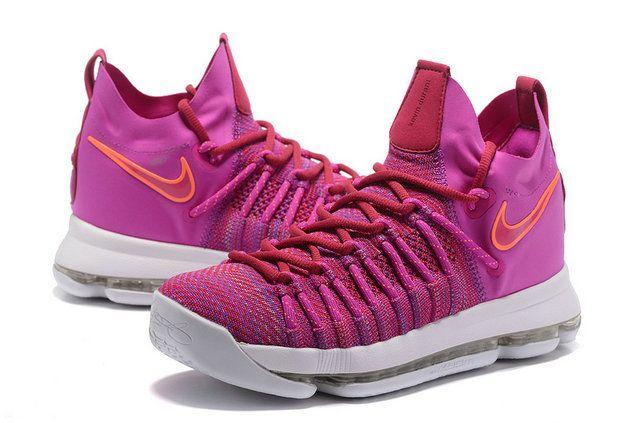 promo code d0446 cda35 Nike KD 9 Official IX Elite Racer Pink Fire Pink Aunt Pearl 878639-666