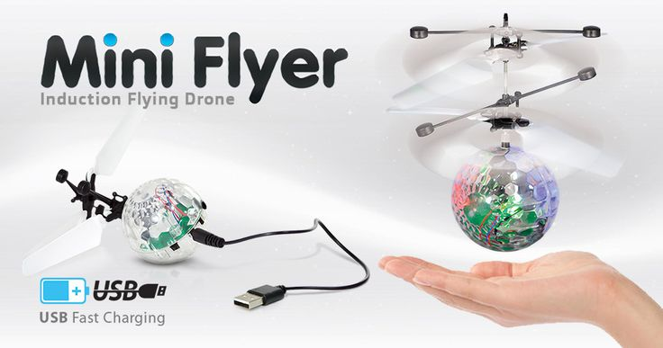 Mini Flyer Induction Flying Drone | Fun Factory Candy & Novelty Co.