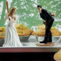 piece montee mariage original gateau sport passion rencontre souvenirs figurine decor baseball