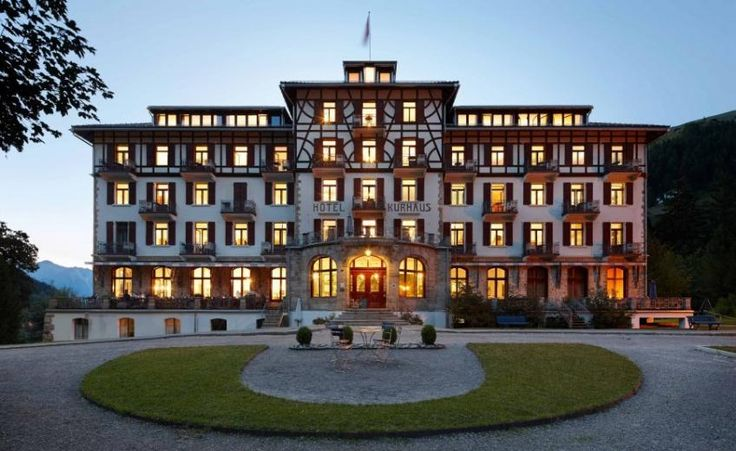 Historic Hotel Countryside Award 2017 Winner: Kurhaus Bergen, Country: Switzerland