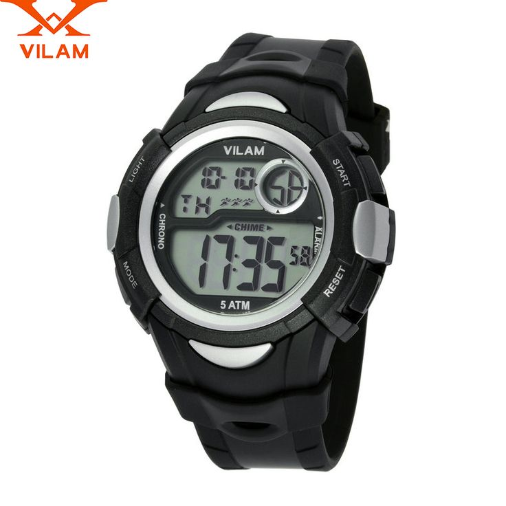 VILAM relogio masculino 2016 new digital watch men ladies casual men's sport watches for men waterproof watch female students