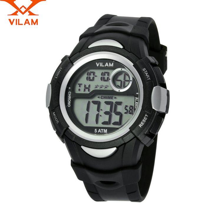 VILAM relogio masculino 2016 new digital watch men ladies casual men's sport watches for men waterproof watch female students