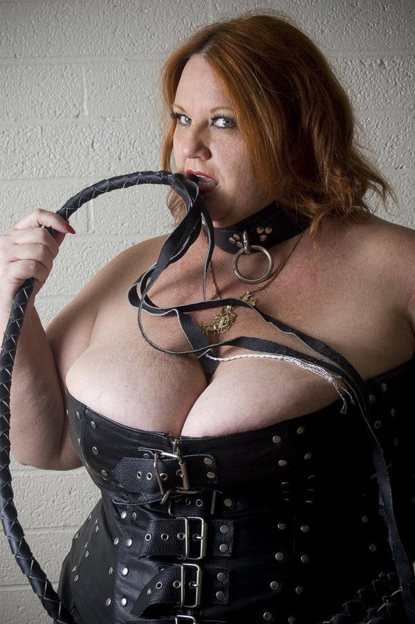 Corset bbw leather