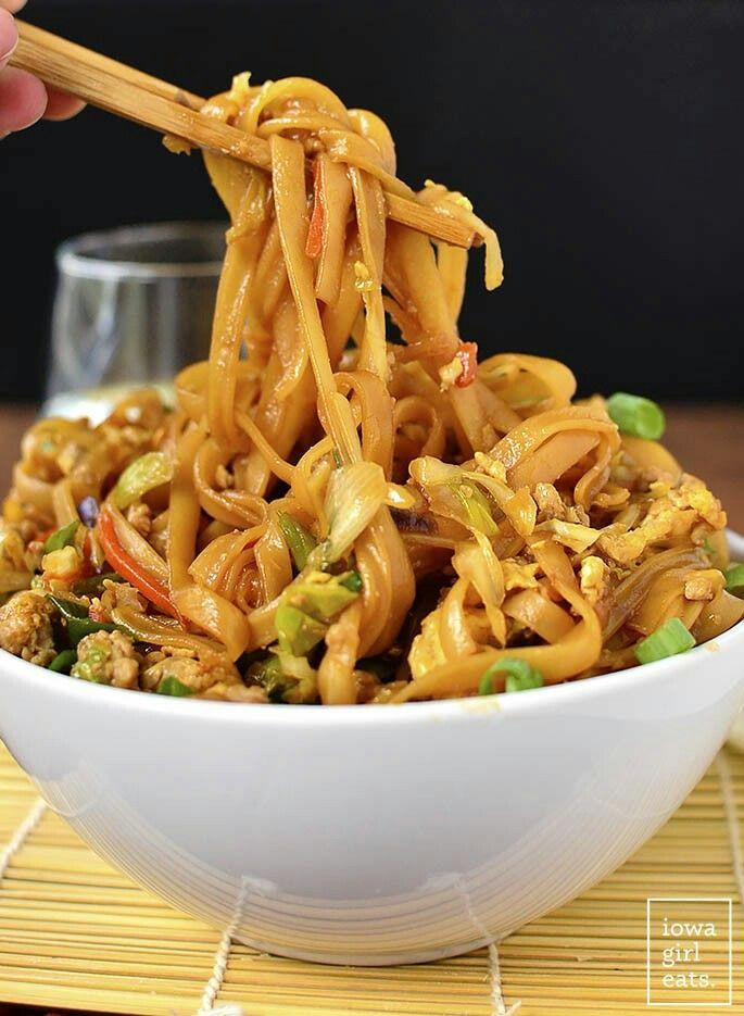 Potsticker Noodle Bowl Recipes Food Dishes Healthy Recipes