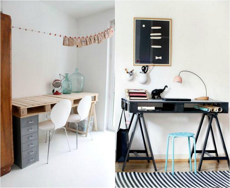 Schreibtisch Selber Bauen Paletten Tischplatte Ikea Gruvan Gestell