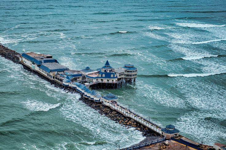 La Rosa Nautica - La Rosa Nautica is an upscale restaurant in Lima over the sea...