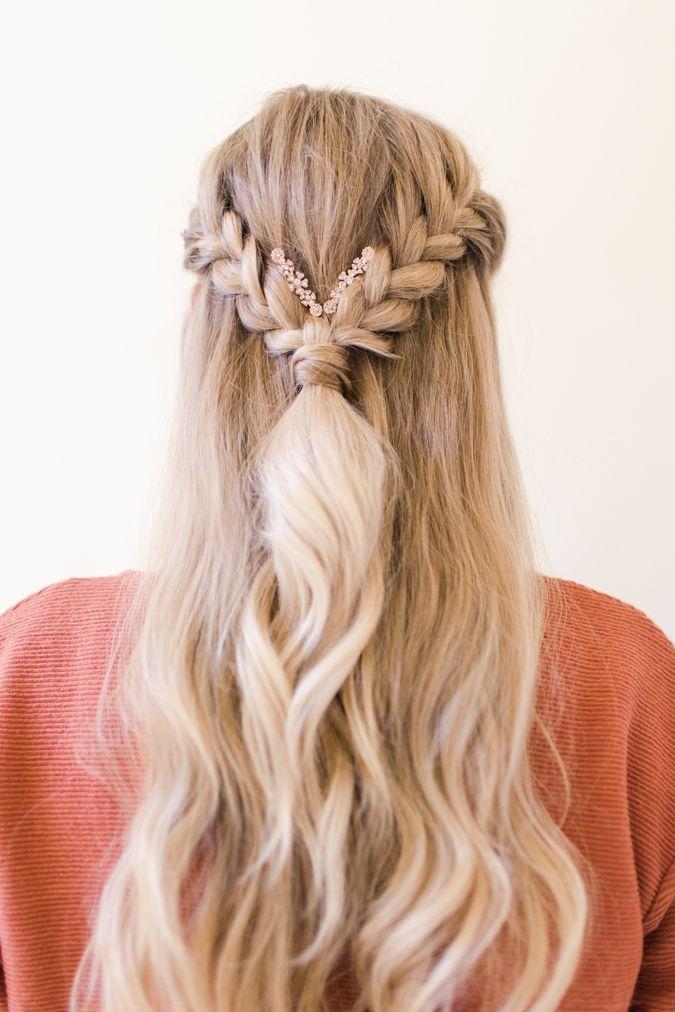 Embellished Boho Braids Boho Braids Hair Styles Hairdo For Long Hair