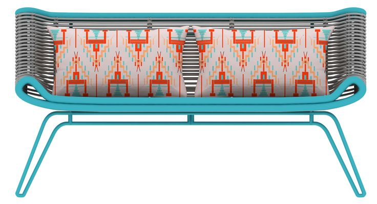 Ulos-Ribbon Chair Rattan Furniture