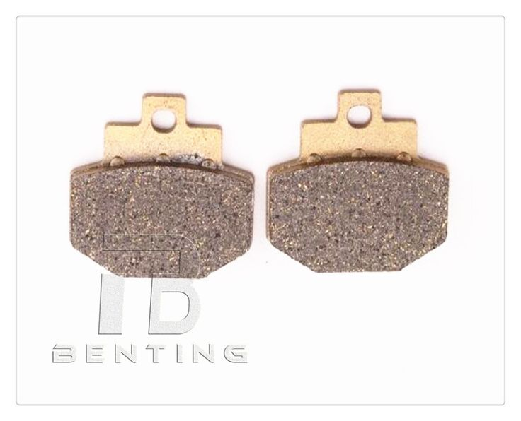Motorcycle Rear Brake Pads Brake Disks For PIAGGIO Fly 150 (4T/3V)  2013-2014 #Affiliate