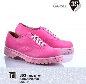 Jual Sepatu Boots Wanita Lucu warna pink murah Online