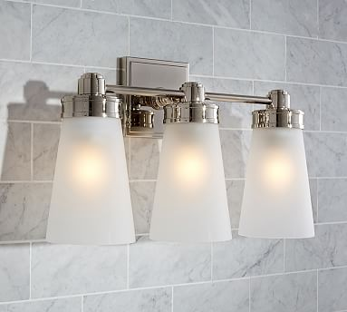 Bathroom Sconces Pottery Barn 174 best *bath > sconces* images on pinterest | bathroom ideas