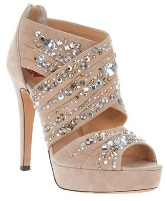 """This falls under the jurisdiction of """"Shoes as Art"""" ... sparkly boom boom!"""