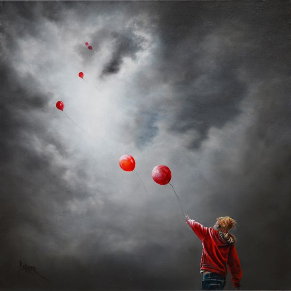 Bob Barker Art : Time to Fly