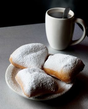 Beignets are a crowd favorite at the Gumbo Diner on Seawall Boulevard. Photo: Courtesy Galveston CVB