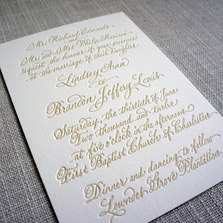 Handwritten Wedding Invitations Cost | Wedding