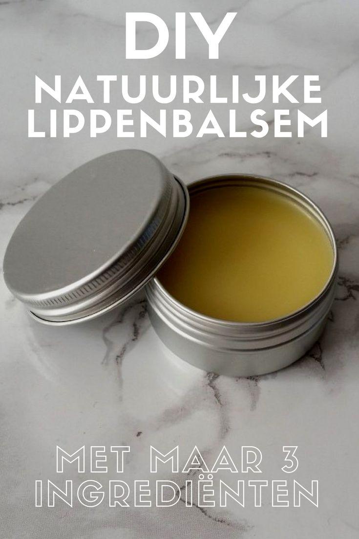 Met dit DIY recept maak je heel eenvoudig een natuurlijk lippenbalsem die je lippen verzorgt en hydrateert zonder de natuurlijke balans te verstoren. En dat met slechts 3 ingrediënten!