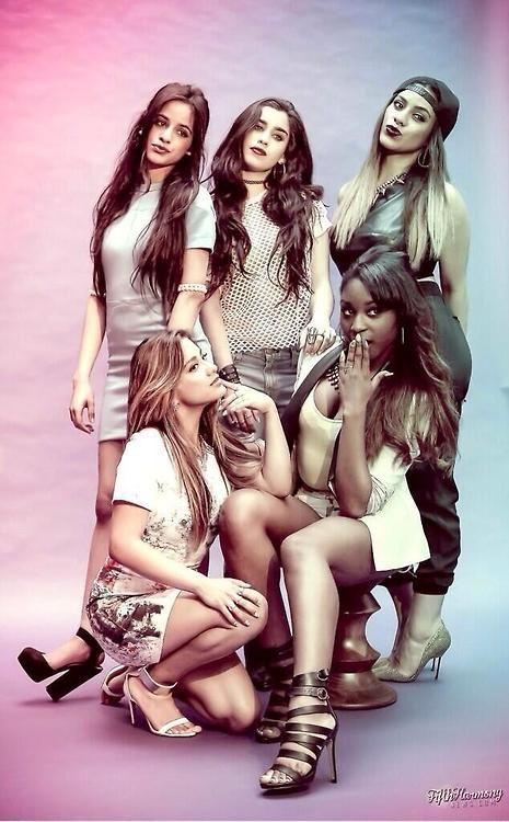 Fifth Harmony-Allyson (Ally) Brooke Hernandez, Normani Kordei Hamilton, Karla Camila Cabello, Lauren Michelle Jauregui, and Dinah Jane Hansen