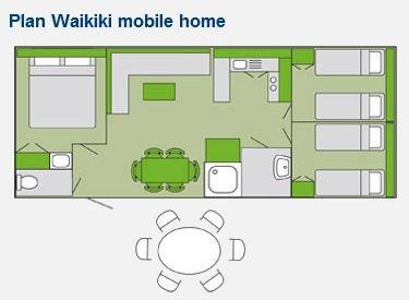 Waikiki Mobile Home Layout