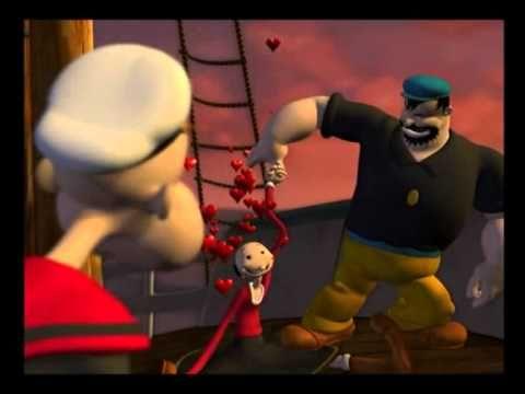 Pepek Námořník Animovaný