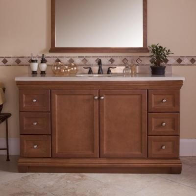 st paul brentwood 60 in vanity cabinet only in amber on home depot vanity id=46803