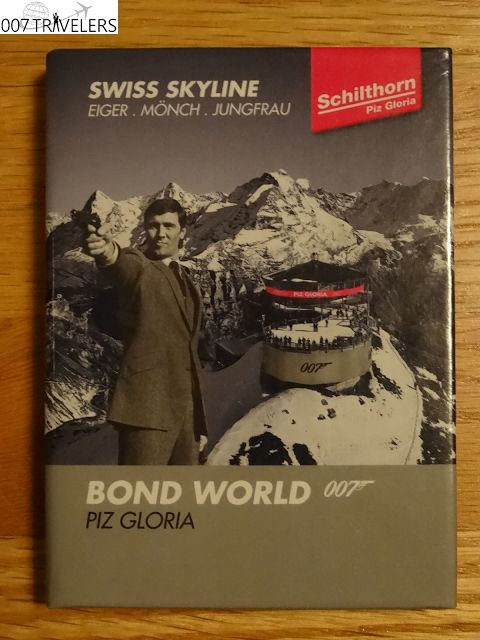007 TRAVELERS: 007 Item: BOND WORLD 007 PIZ GLORIA Memo book