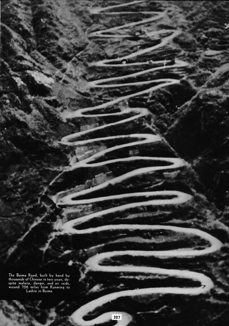 The Ledo Road (from Ledo, Assam, India to Kunming, Yunnan, China) was built during World War II so that the Western Allies could supply the Chinese as an alternative to the Burma Road which had been cut by the Japanese in 1942. It was renamed the Stilwell Road (named after General Joseph Stilwell of the U.S. Army) in early 1945.